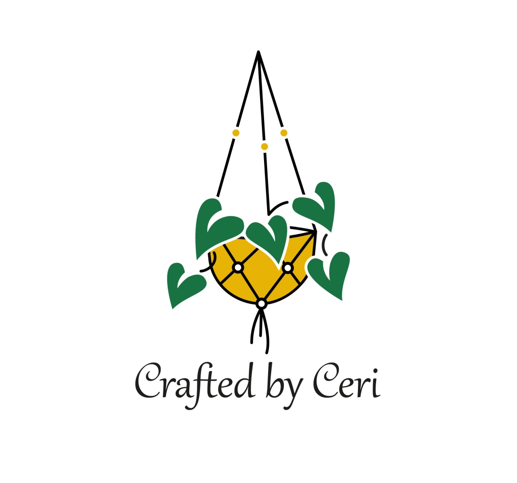 Craft by Ceri logo macrame plant hanger